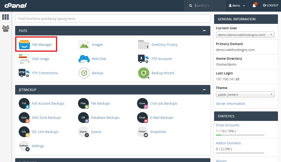 Webhostingnz | Knowledgebase