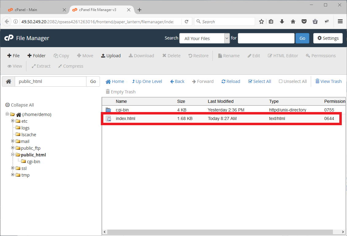 Webhostingnz   How do I upload my site in File Manager in cPanel?